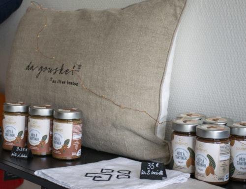 Avis aux gourmands : La marque de pâte à tartiner Louarnes est disponible chez Ty Coz !