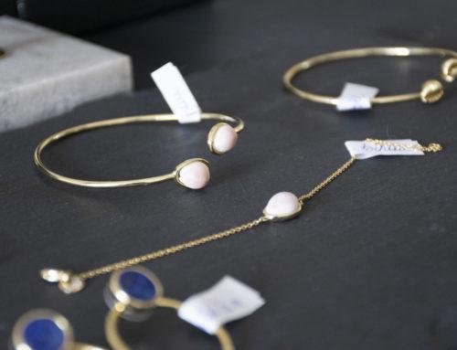 Les bijoux inspirés par la Bretagne d'Arméria arrivent chez Ty Coz